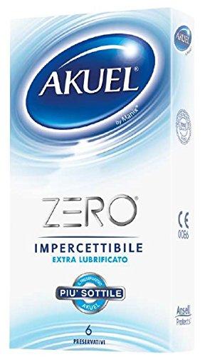 Akuel ZERO, i preservativi più sottili della gamma Akuel, 6 pezzi