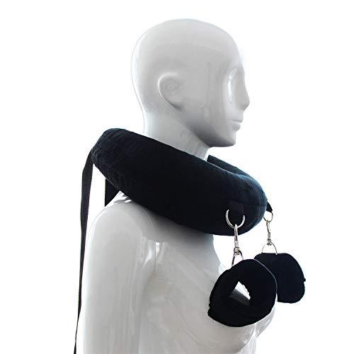 BONDAGERIE® Cuscino morbido con manette per gambe e polsi, BDSM Bondage
