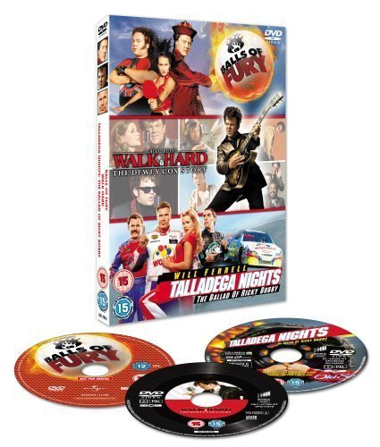 Balls Of Fury/Walk Hard - The Dewey Cox Story/Talladega Nights - The Ballad Of Ricky Bobby [Edizione: Regno Unito] [Edizione: Regno Unito]
