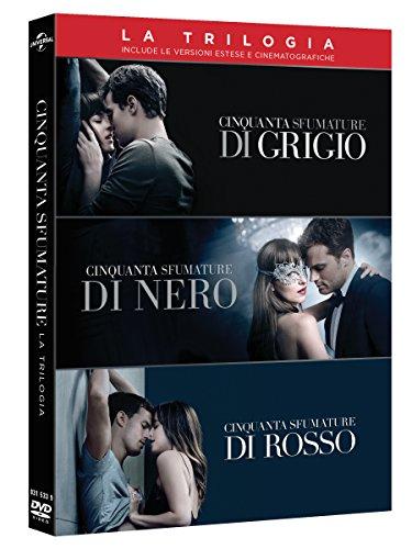 Cinquanta Sfumature (Trilogia) (Box 3 Dvd)