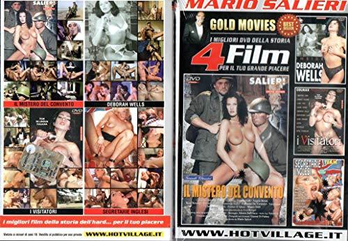 MARIO SALIERI ( 12 FILM - 3 DVD ) Deborah Wells, Tabatha Cash, Milly Ford, Monica Roccaforte, Erika Bella, Karen Lancoume, Silvia Saint, Luana Borgia